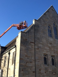DACA Roofing  |  Ceramic Tiles for a Church